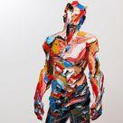 Multicolored Palette Knife Portraits By Salman Khoshroo   IGNANT
