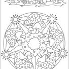 Mandalas 034 Coloring Page for Kids - Free Painting Printable Coloring Pages Online for Kids - ColoringPages101.com   Coloring Pages for Kids