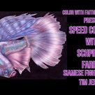 Schpirerr Farben Speed Coloring | Image Siamese Fighting Fish by Tim Jeffs