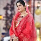 sanam baloch in morning show beautiful shalwar
