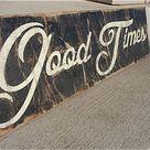 Vintage Wood Signs