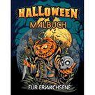 Halloween Malbuch fr erwachsene: Malbuch zum Entspannen fr Erwachsene und Kinder 55 Malvorlagen (Paperback)