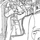 Kids-n-Fun   Kleurplaat Harry Potter en de Geheime kamer Harry Potter en de Geheime kamer