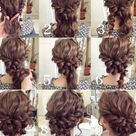 Updos For Curly Hair