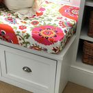 DIY Bench Seat Cushion Cover Tutorial   Easy Sewing   Bloom