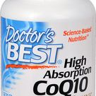 Doctor's Best  High Absorption CoQ10 with Bioperine® -- 100 mg - 120 Veggie Caps