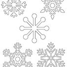 Free Printable Snowflake Templates – 10 Large & Small Stencil Patterns