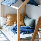 Floor Bed nach Maria Montessori | Das Hausbett im Kinderzimmer (ivy.li)