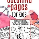 Free Valentine's Day Coloring Pages Printable