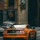The latest iPhone11, iPhone11 Pro, iPhone 11 Pro Max mobile phone HD wallpapers free download, car, sportscar, orange, rear view - Free Wallpaper   Download Free Wallpapers