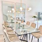 Classy dining area