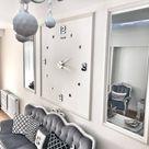 10 Uhr Wohnzimmer Design