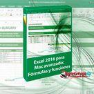 Curso Excel 2016 para Mac avanzado Fórmulas y funciones [mega] 1 LINK   Niroqui PC