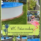 WPC Poolumrandung
