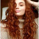 natural red hair pixie haircut