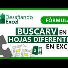 BUSCARV en DOS HOJAS DIFERENTES en Excel   Fórmulas de Excel 66