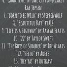 Roading trippin' tunes • Playlist