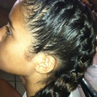 Double French Braids