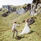 Boho Hochzeit auf der Alm