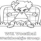 WK Voetbal Werkboekje Groep 2