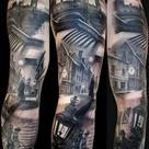 Scenery Tattoo