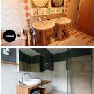 Vorher Nachher Ein neues Badezimmer unter 5000 Euro