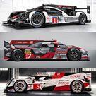 2016 WEC LMP1 Hybrid class  Porsche 919, Audi R18, Toyota TS050