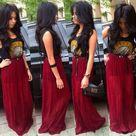 Cute Maxi Skirts