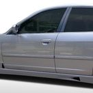 2001-2005 Honda Civic 4DR Duraflex R34 Side Skirts Rocker Panels - 2 Piece