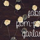 Fabric Pom Poms