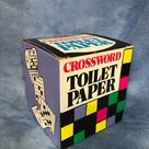 Vintage Crossword Puzzle Novelty Toilet Paper Gag Gift | Etsy