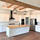 Plan 51773HZ 4 Bed Modern Farmhouse with Bonus Over Garage