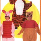 Butterick Sewing Pattern 5172 B5172 Boys Girls Size 1-6  Winnie the Pooh Bear Costumes Tigger Piglet
