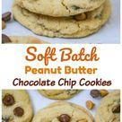 Soft Batch Peanut Butter Chocolate Chip Cookies