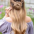 157 amazing braided hairstyles for long hair for every occasion   page 16   terinfo.co in 2020   Hai