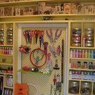 Pegboard Craft Room