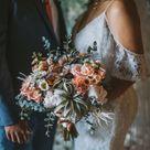 Poconos Mountain Themed Wedding | Spring Wedding Bouquet