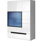 Hektor 12 Wall Hung Cabinet - White Gloss / 90cm