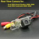 22.9US $  Car Rear View Camera for Audi RS4 Avant Quattro Carbriolet 2006 2007 2008 Wireless Wired Parking Reversing Backup Camera CCD HD rear view camera reverse backup cameraccd hd   AliExpress