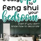 9 easy steps to feng shui your bedroom