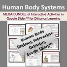 Human Body Systems   Activities for Distance Learning in Google SlidesTM   Mega Bundle of Worksheets