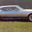 1972 Buick Riviera Silver Arrow III   Концепты
