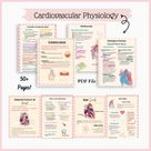 The Blood & Heart Study Guide, The Cardiovascular System - Heart and Blood, Anatomy and Physiology, Nursing School Notes and Study Guides