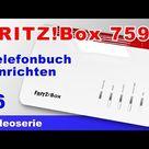 Telefonbuch der FRITZBox 7590 einrichten importieren exportieren und einem DECT Telefon zuordnen #6