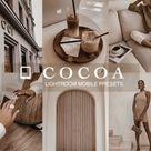 Lightroom Presets mobile cocoa    Vsco Filters   Mobile Presets   iPhone presets   Instagram Blogger Presets   Coffee   Dark Presets  Brown