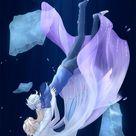Jelsa - Elsa and Jack Frost Fan Art - Frozen 2/Rotg edit by @Rina pixiv