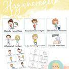 Hygieneregeln Corona Bildkarten