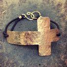 Sideways Cross Bracelets