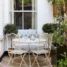 Octavia Dickinson's Battersea flat captures the essence of an English cottage