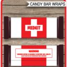Fortnite Hershey Candy Bar Wrappers template – Medkit